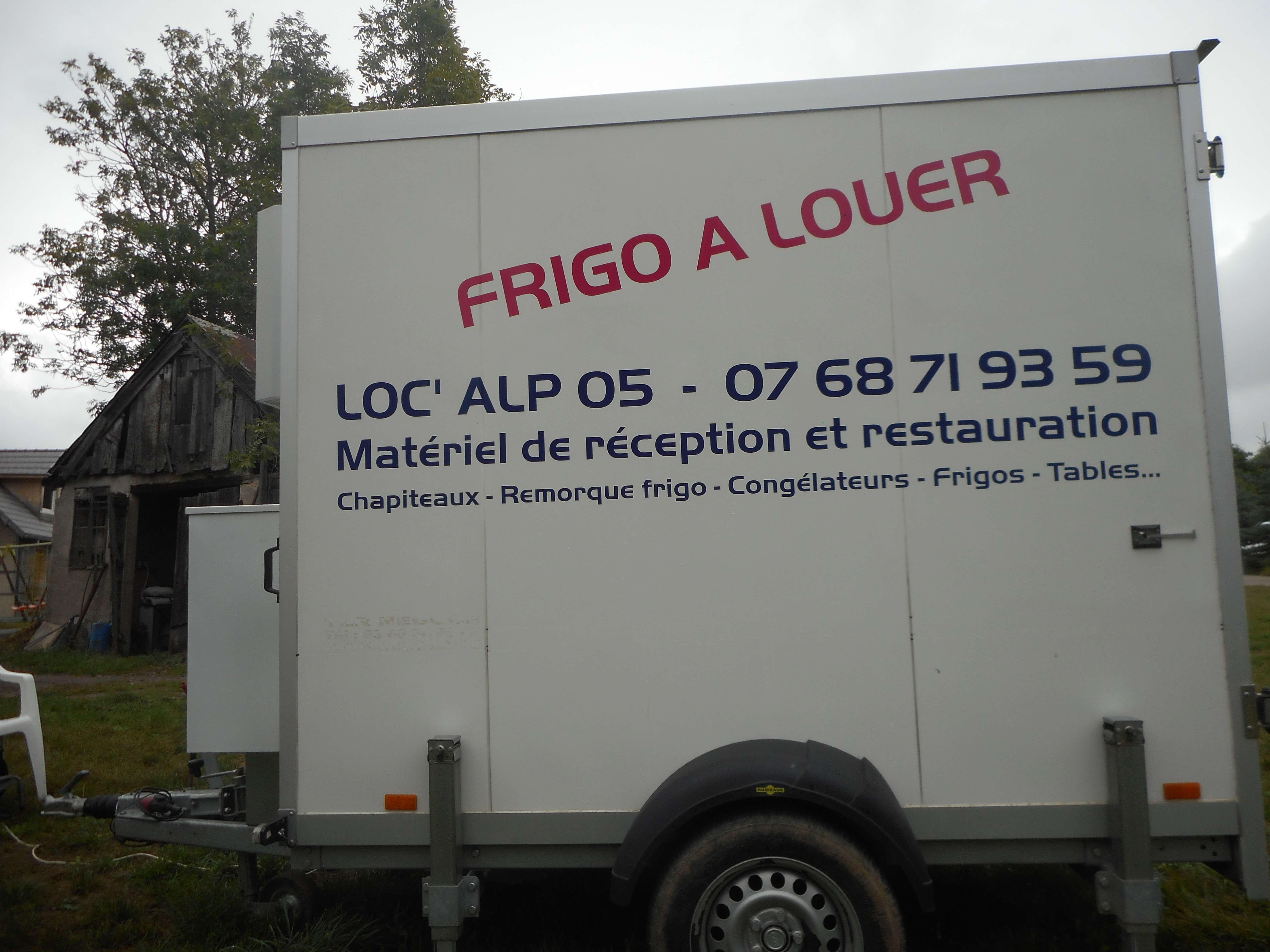 location remorques frigorifiques